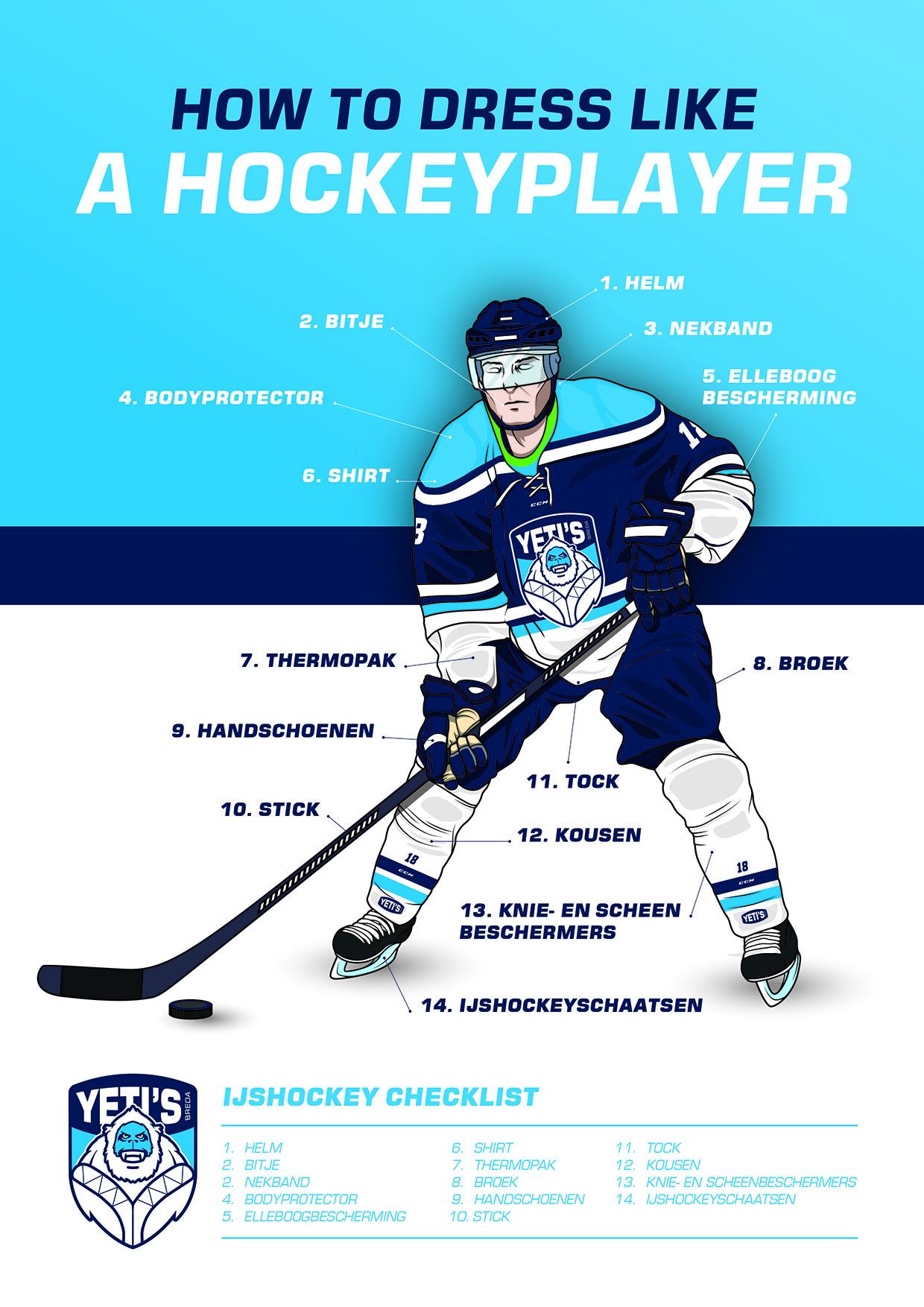 IJshockey gear, wat heb je nou nodig?