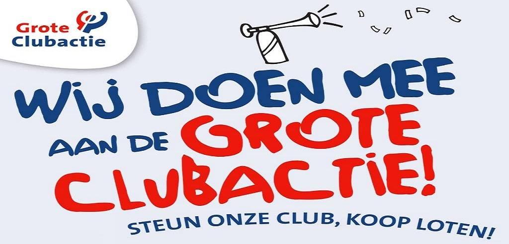Afbeelding: wij doen mee aan de Grote Clubactie!