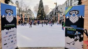 Winterclinics op tijdelijke ijsbaantjes