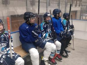 Eerste oefenwedstrijd U12/Junioren