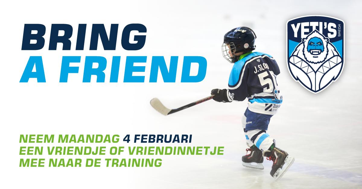 4 februari – Bring a friend