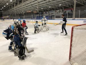 Goalie training door Fabian Schotel