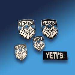 Yeti (helm) stickers