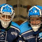Nieuwe goalie helmen voor de jeugd!