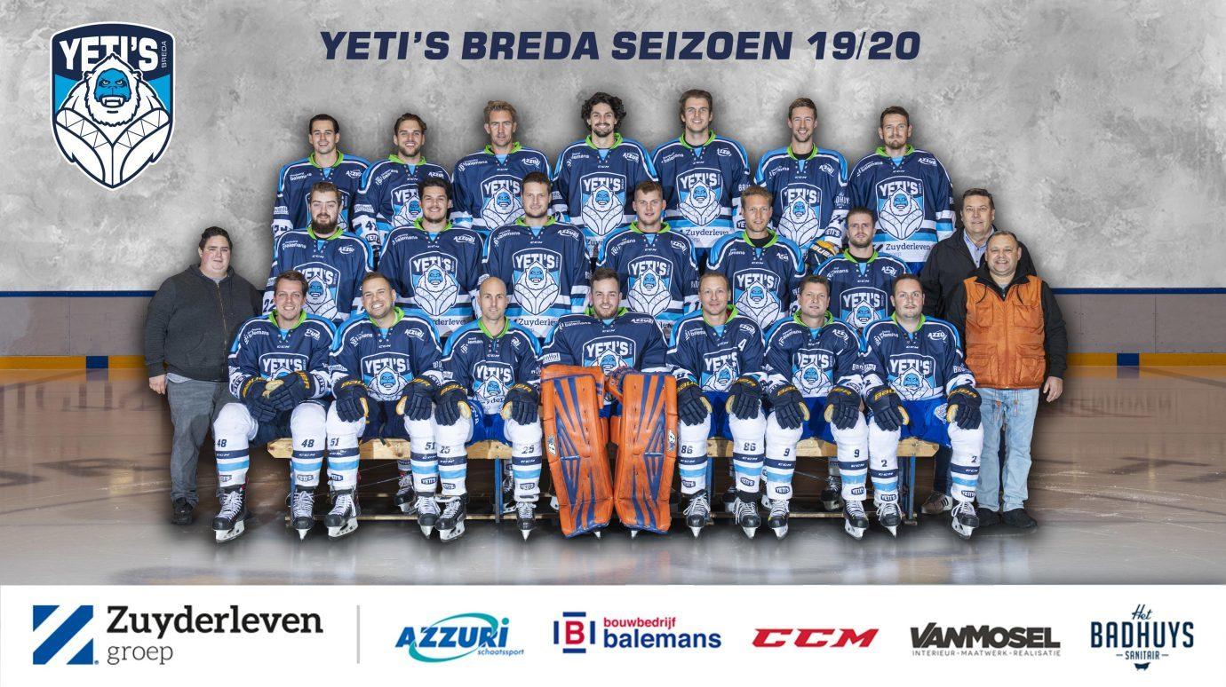 Yeti's Breda Eerste Team
